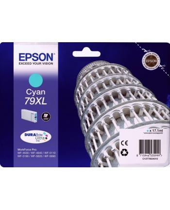 Tusz Epson C13T79024010 (oryginał ; 17.1 ml; niebieski)