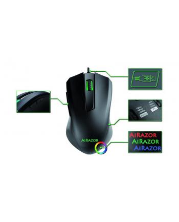 Mysz LC-POWER  LC-M810RGB (optyczna; 5000 DPI; kolor czarny)