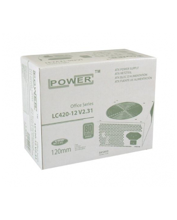 Zasilacz LC-POWER  LC420-12 V2.31 80+ BRONZE (350 W; Aktywne; 120 mm)