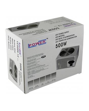 Zasilacz LC-POWER  LC500H-12 V2.2 (500 W; Aktywne; 120 mm)