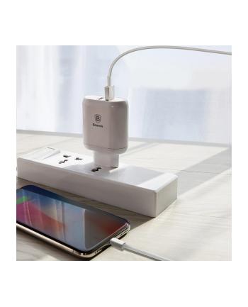 Ładowarka sieciowa Baseus CCALL-AG02 (USB 3.0; kolor biały)