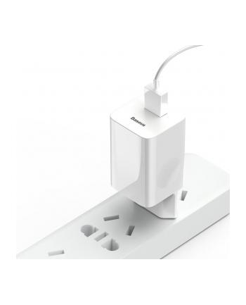 Ładowarka Baseus  CCALL-BX02 (USB 3.0; kolor biały)
