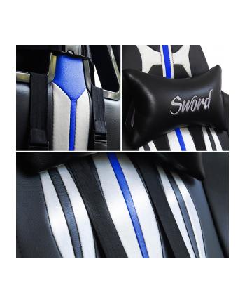 Fotel WARRIOR CHAIRS Sword 5903293761106 (kolor niebieski)