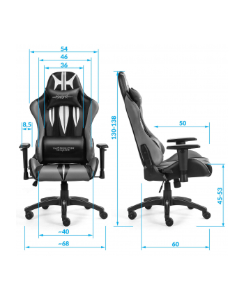 Fotel WARRIOR CHAIRS Sword 5903293761113 (kolor zielony)