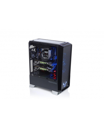 Obudowa RIOTORO CR1280 (ATX  Extended ATX  Mini ATX  Micro ATX; kolor czarny)
