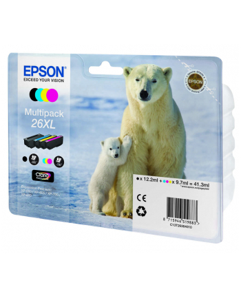 Tusz Epson C13T26364010 (oryginał ; kolor)