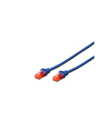 Kabel U/UTP DIGITUS DK-1617-010/B (RJ45 - RJ45; 1m; UTP; kat. 6; kolor niebieski)