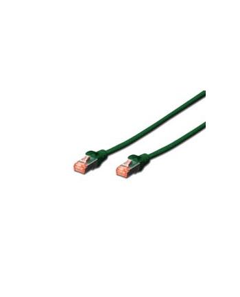 Kabel DIGITUS DK-1644-020/G (RJ45 - RJ45; 2m; S/FTP; kat. 6; kolor czarny)