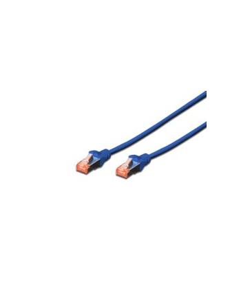Kable sieciowe DIGITUS DK-1644-030/B (RJ45 - RJ45; 3m; S/FTP; kat. 6; kolor niebieski)