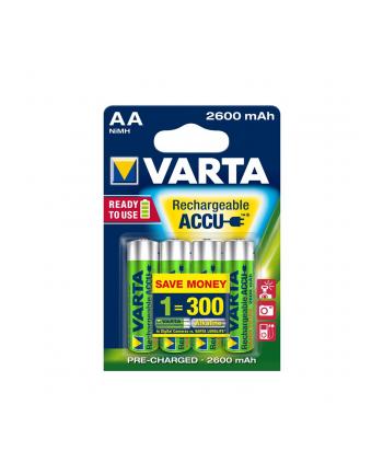 VARTA AKUMULATOR HR6/AA 2600MAH READY2USE-BLISTER 4 SZT.