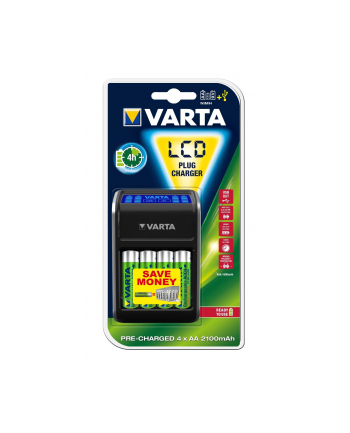 Ładowarka VARTA LCD Charger 57677101441