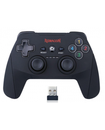 Gamepad REDRAGON HARROW G808 (PC; kolor czarny)
