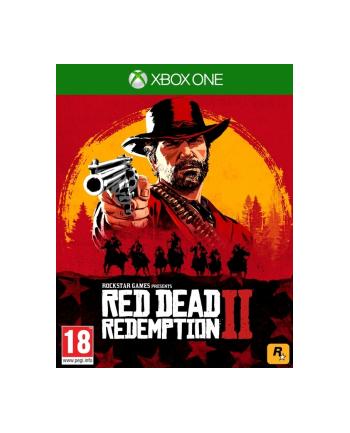 rockstar north Gra Xbox One Red Dead Redemption II (wersja BOX; Blu-ray; ENG  PL - kinowa; od 18 lat)