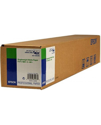 Papier Epson Roll Single Weight Matte 24'' x 40m (120g/m2)