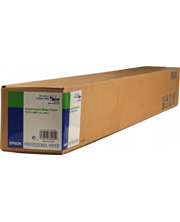 Papier Epson Roll Single Weight Matte 44'' x 40m (120g/m2)