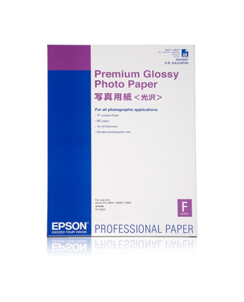 Papier Epson A2 Premium Glossy Photo  (25 ark.)
