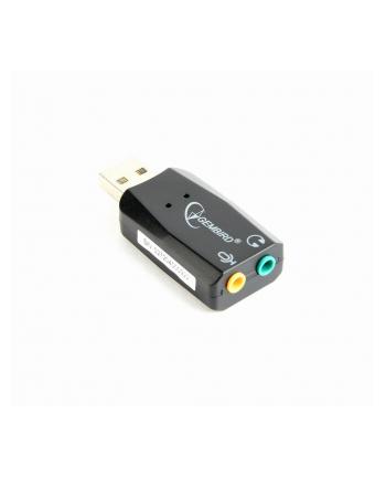 Karty dźwiękowe GEMBIRD SC-USB2.0-01 (Zewnętrzna; Jack 3 5mm  USB 2.0)