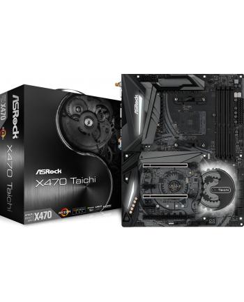 Płyta główna X470 TAICHI Asrock (AM4; 4x DDR4; ATX; CrossFireX  Quad CrossFireX  Quad SLI  SLI)