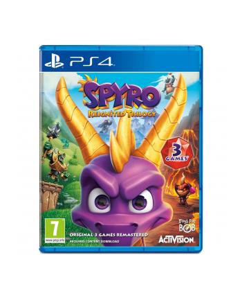 activision Gra Spyro Reignited Trilogy (wersja BOX; Blu-ray; PL - kinowa; od 7 lat)