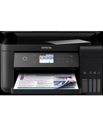 Urządzenie wielofunkcyjne Epson ET-3700 C11CG21401 (atramentowe kolor; A4; Skaner płaski)