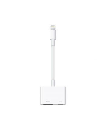 Adapter złącze Lighting na cyfrowe Apple MD826ZM/A (kolor biały)