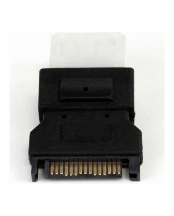 Adapter StarTech LP4SATAFM (SATA 15-pin M - Molex 4-pin F; kolor czarny)