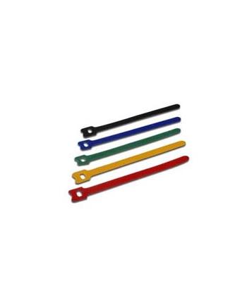 digitus Zestaw opasek kablowych typu rzep 150mm x 12mm x 2.6mm różne kolory