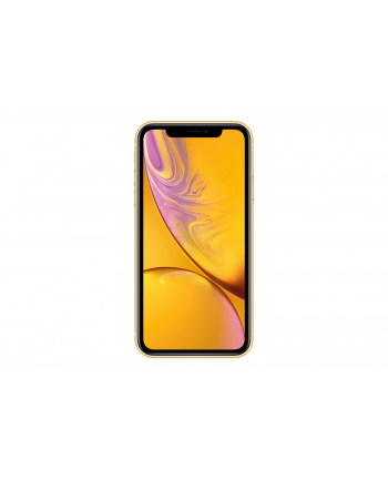 Smartfon Apple iPhone XR 128GB Yellow (6 1 ; 1792x768; 128GB; 3GB; DualSIM; kolor żółty )