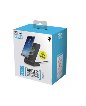 Ładowarka indukcyjna Trust Expo10 Wireless Fast-charging 23069 (Micro USB; kolor czarny)