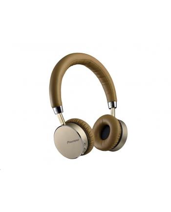 Słuchawki Pioneer SE-MJ561BT-T (nauszne; Bluetooth; z wbudowanym mikrofonem; kolor złoty)