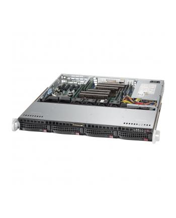 Obudowa serwerowa Rack Supermicro  CSE-813MFTQC-505CB (kolor czarny)