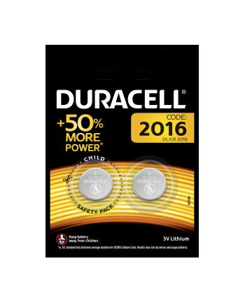 Baterie litowe Duracell DL 2016 (x 2)
