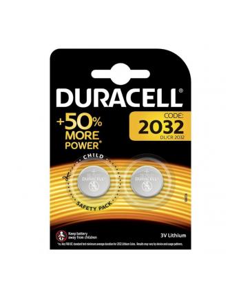 Baterie litowe Duracell DL 2032 (x 2)