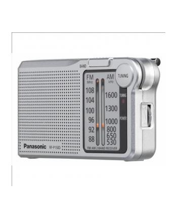 Radio kieszonkowe kompaktowe Panasonic  RF-P150DEG-S (kolor srebrny)