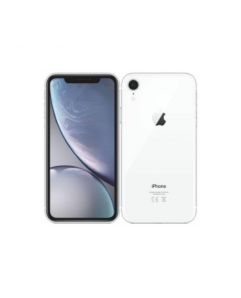 Smartfon Apple iPhone XR 64GB White (6 1 ; 1792x768; 64GB; 3GB; DualSIM; kolor biały )
