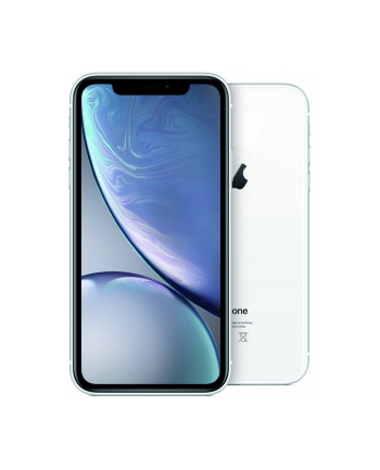 Smartfon Apple iPhone XR 128GB White (6 1 ; 1792x768; 128GB; 3GB; DualSIM; kolor biały )