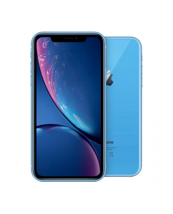 Smartfon Apple iPhone XR 128GB Blue (6 1 ; 1792x768; 128GB; 3GB; DualSIM; kolor niebieski )