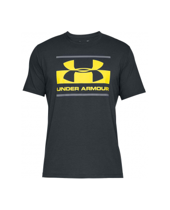Koszulka Under Armour Blocked Sportstle Logo (M; Bawełna  Elastan  Poliester; kolor ciemnoszary)