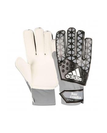 Rękawice Bramkarskie Adidas Ace Junior IC S90165 (uniwersalne; 5; kolor biało-szary)