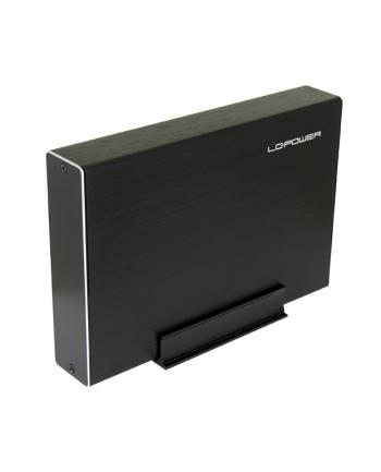 Obudowa LC-POWER LC-35U3-Becrux-C1 (3.5 ; USB 3.1; Aluminium; kolor czarny)