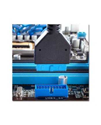 Obudowa LC-POWER LC-7019B-ON (ATX  Micro ATX  Mini ITX; kolor czarny)