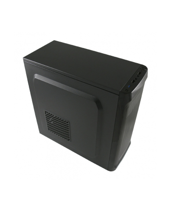 Obudowa LC-POWER LC-7034B-ON (ATX  Micro ATX  Mini ITX; kolor czarny)