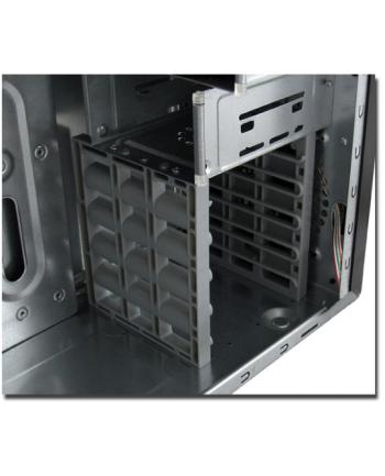 Obudowa LC-POWER LC-924B+ (ATX  Micro ATX; kolor czarny)
