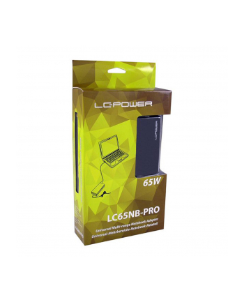 Zasilacz LC-POWER LC65NB-PRO do notebooka (18 5-20 V; 2-3 5 A; 65W )