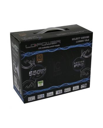Zasilacz LC-POWER LC5550 V2.2 (550 W; Aktywne; 120 mm)