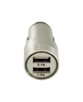 Ładowarka LC-POWER LC-USB-CAR-ALU