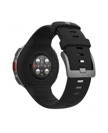 Zegarek sportowy Polar Vantage V black HR 90069634 (kolor czarny)