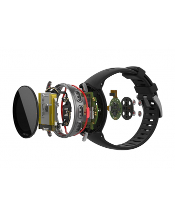 Zegarek sportowy Polar Vantage V black 90069668 (kolor czarny)