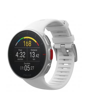 Zegarek sportowy Polar Vantage V white 90070736 (kolor biały)