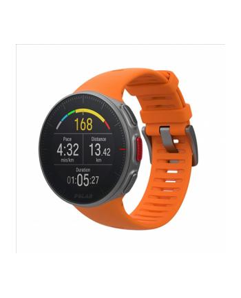 Zegarek sportowy Polar Vantage V orange 90070738 (kolor pomarańczowy)